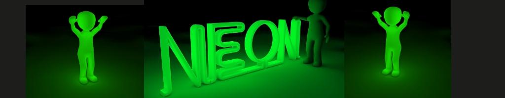 Neonfarben