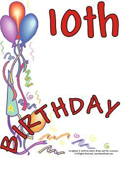 Happy 10th birthday Sunburst Software Solutions, Inc.