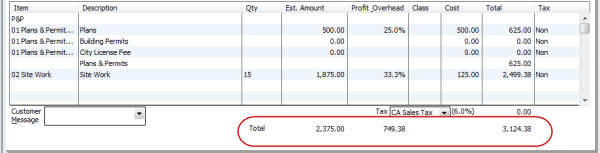 calculating profit and overhead