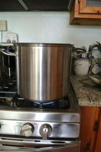 the brine pot