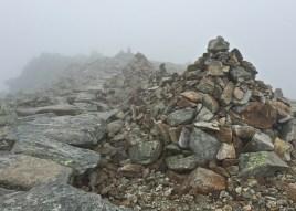 Steinmanderl auf dem Rysy