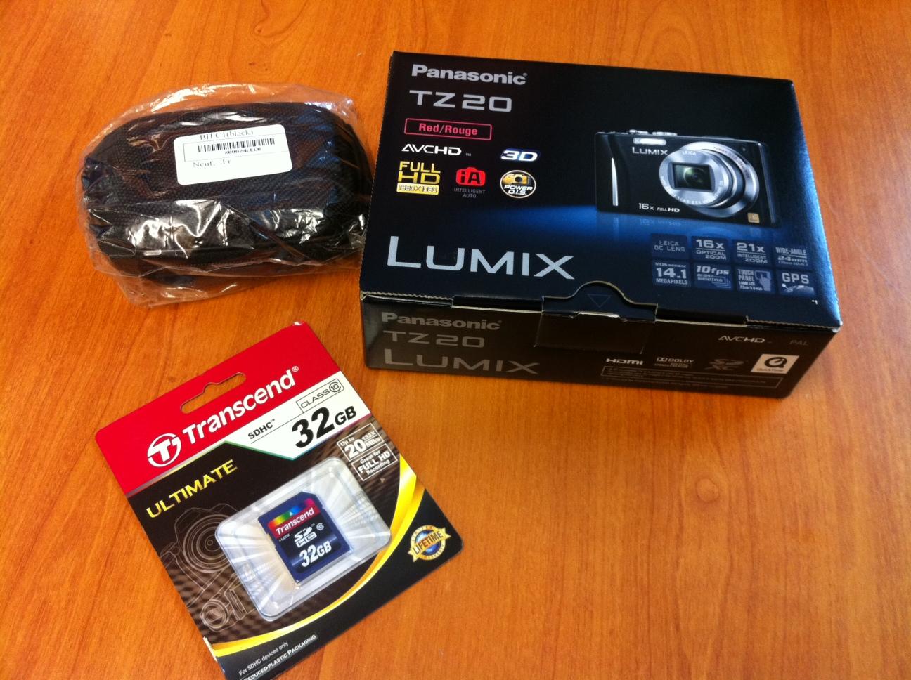 Achat panasonic lumix tz20 blog de sundvold for Changer ecran appareil photo lumix