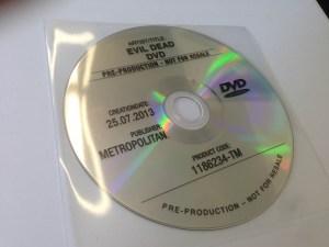 dvd evil dead