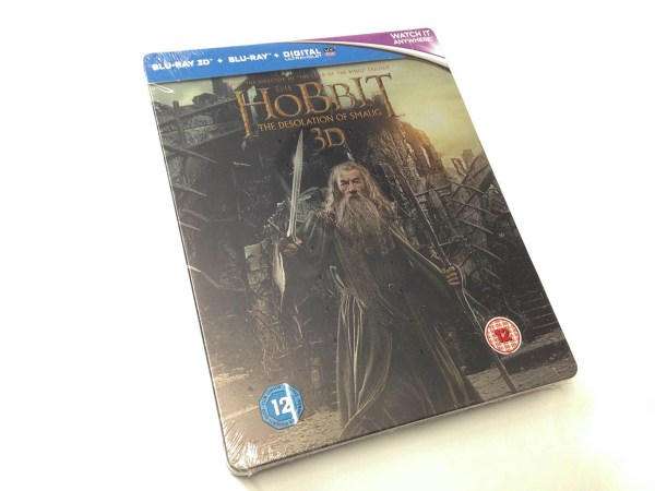 the hobbit - the desolation of smaug - steelbook 3d (10)