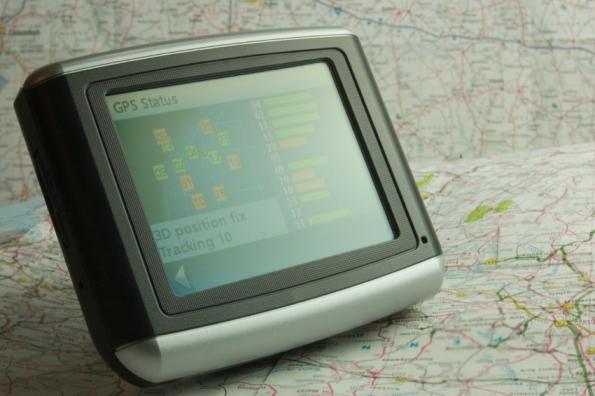 Navigatiesysteem huurauto gps