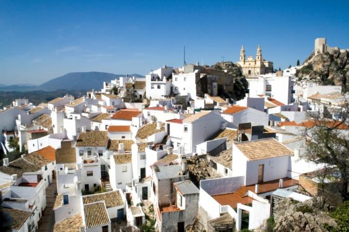 wit dorpje in Andalusië costa del sol
