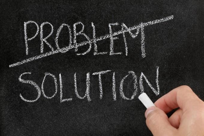Probleem? Nee oplossing