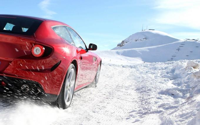 Huurauto wintersport