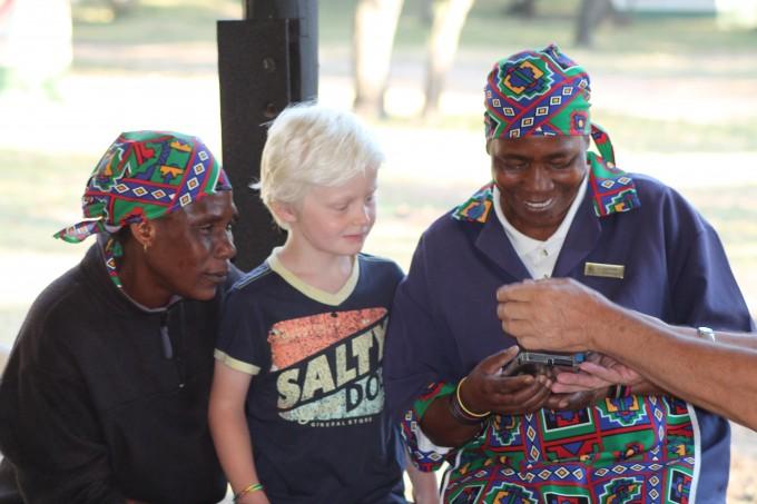 De mama´s Zuid-Afrika vonden Jaro´s DS fascinerend