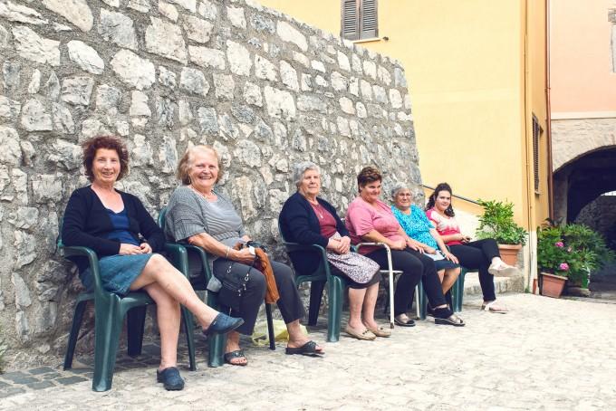 Dames in Campodimele Italië