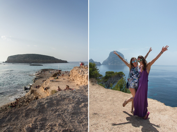 Ibiza strand eiland