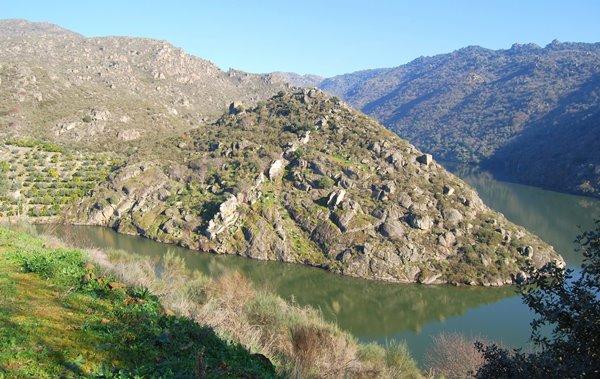 Uitzicht road trip portugal spanje rivier