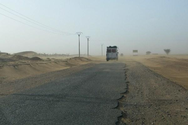 Rondreis Marokko, weg Zagora naar het zuiden