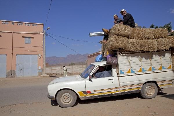 Medeweggebruiker Marokko