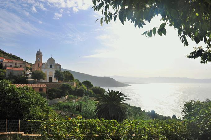 uitzicht kust corsica