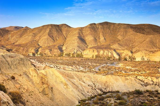 Tabernas woestijn Andalusië