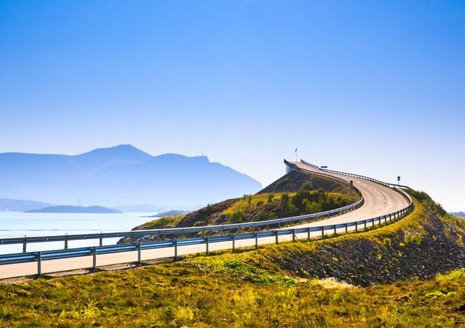 top 5 routes atlantische route noorwegen