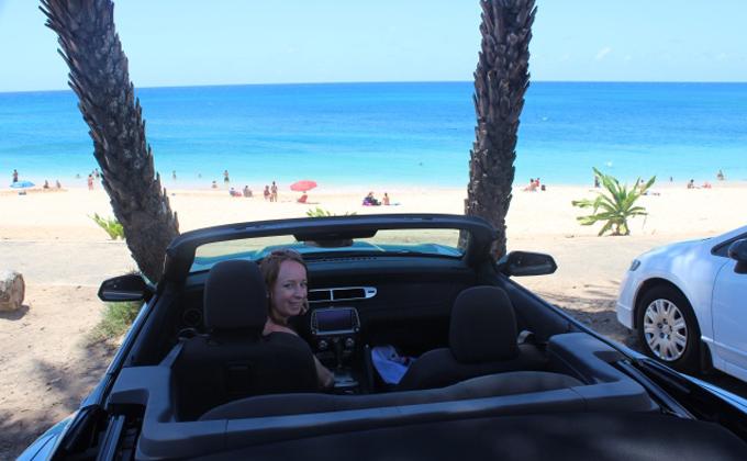 Autohuur Hawaii Strand roadtrip