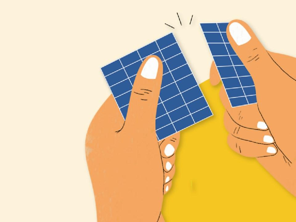 陽光伏特家將太陽能板拆成最小單位!