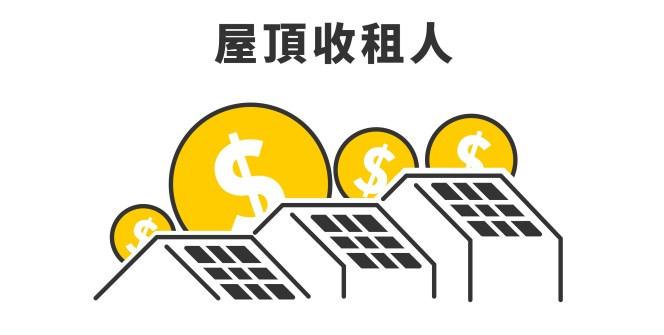 我想投資太陽能電廠,但我只有屋頂,沒有資金