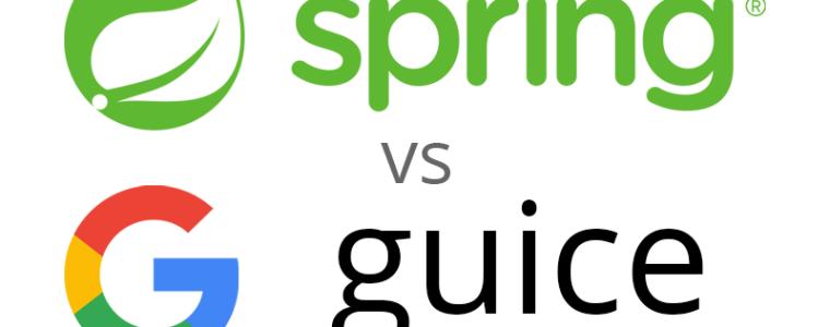 Spring vs guice