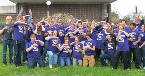 SUNY Ulster's Math Team in 2015