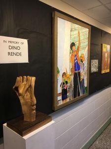 Selection of Dino's artwork in Vanderlyn