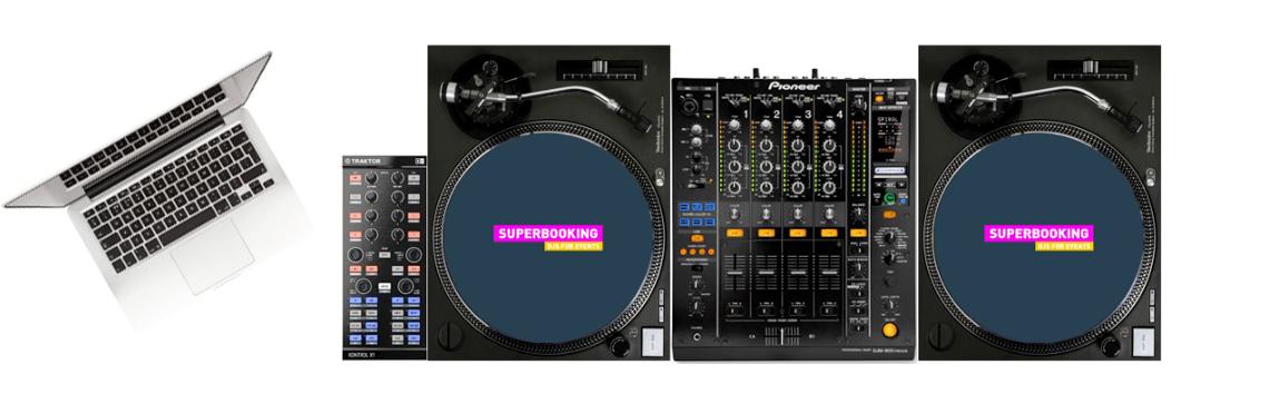 DJ Setup Steve Clash