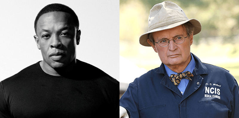 Dr. Dre and David McCallum