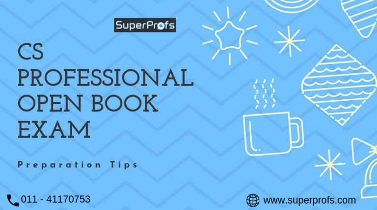 How to prepare for CS Professional Open Book exam