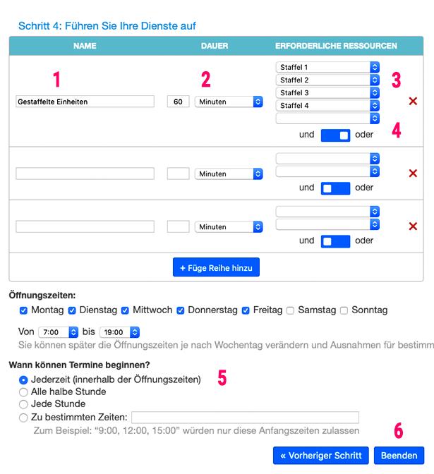 mehrere online Kalender als gestaffelte Termine verbinden