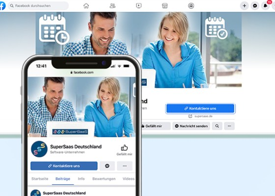 Facebook Buchungen integrieren für den SuperSaaS online Terminbuchungskalender
