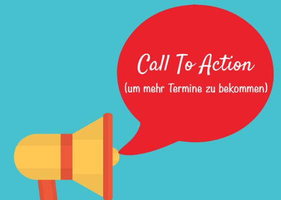 Mehr Termine von Kunden erhalten mit Links und Call-to-Action