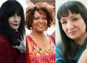 Rita Dove, Sandra Cisneros, and Joy Harjo