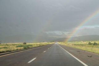Highway and Rainbow