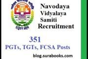 NVS Recruiting  193 Staff Nurse, PGTs, TGTs, FCSA Posts 2017