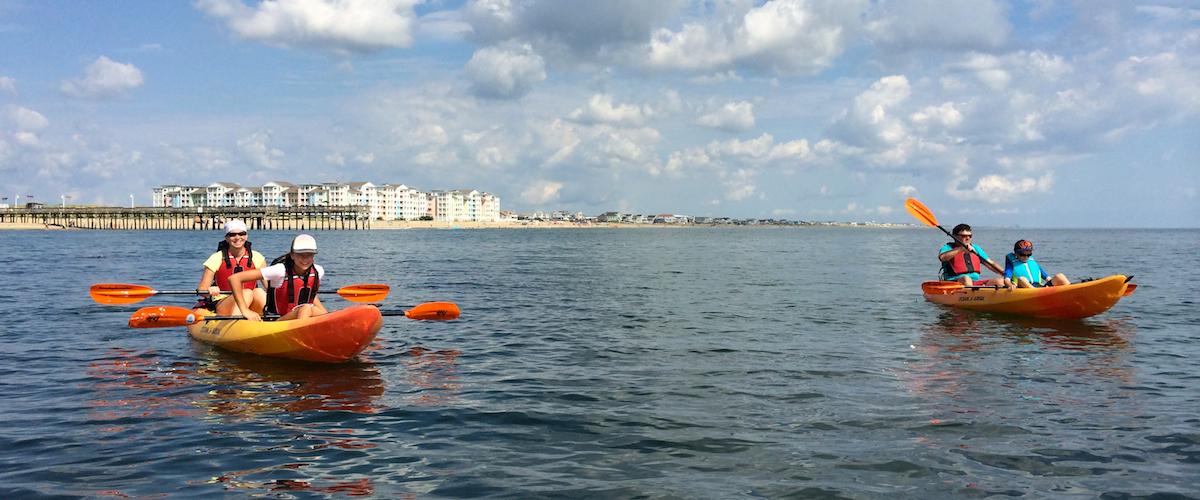Explore with S&A Ocean Kayak Tours - Surf & Adventure