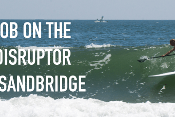 Rob on the disruptor in sandbridge