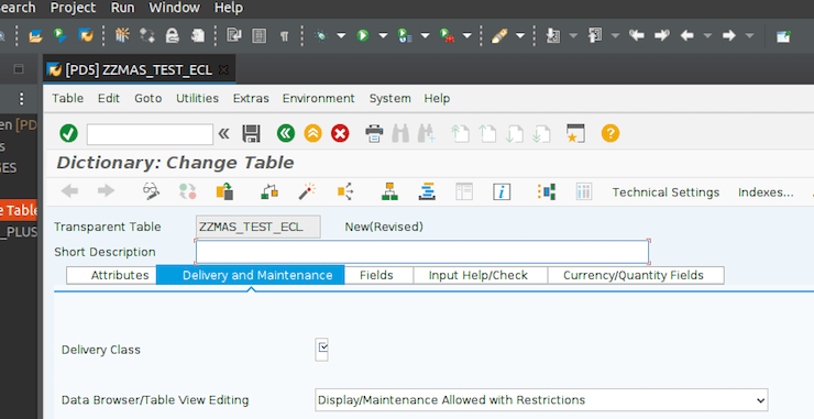 Eclipse interacts with the SAP GUI