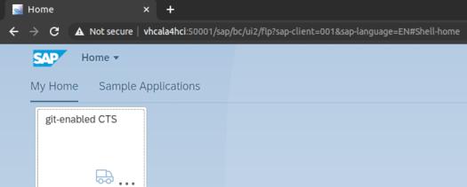 SAP ABAP Platform 1909, Developer Edition: Fiori Launchpad