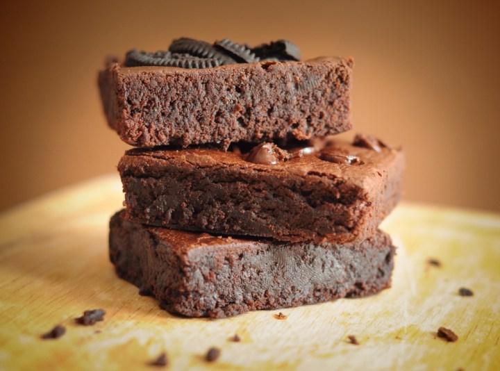 Leftover-coffee-brownie