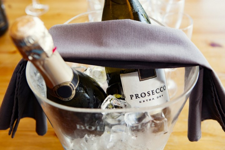Prosecco-ice