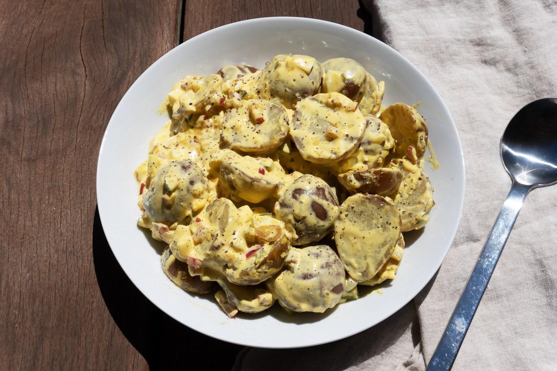 Texas-Style Potato Salad