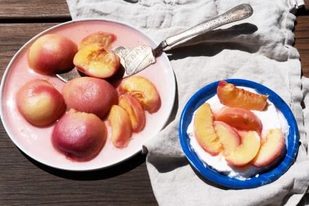 Sous Vide Peaches