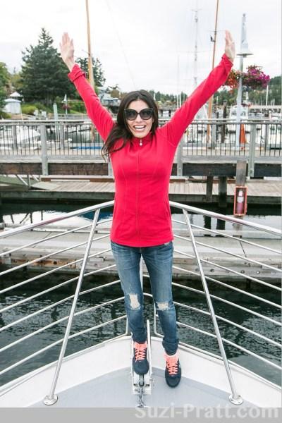 Adriana De Moura Visits San Juan Islands to View Lolita Orca Relatives