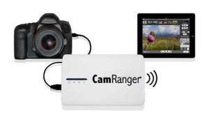 Cam Ranger wireless tethered shooting