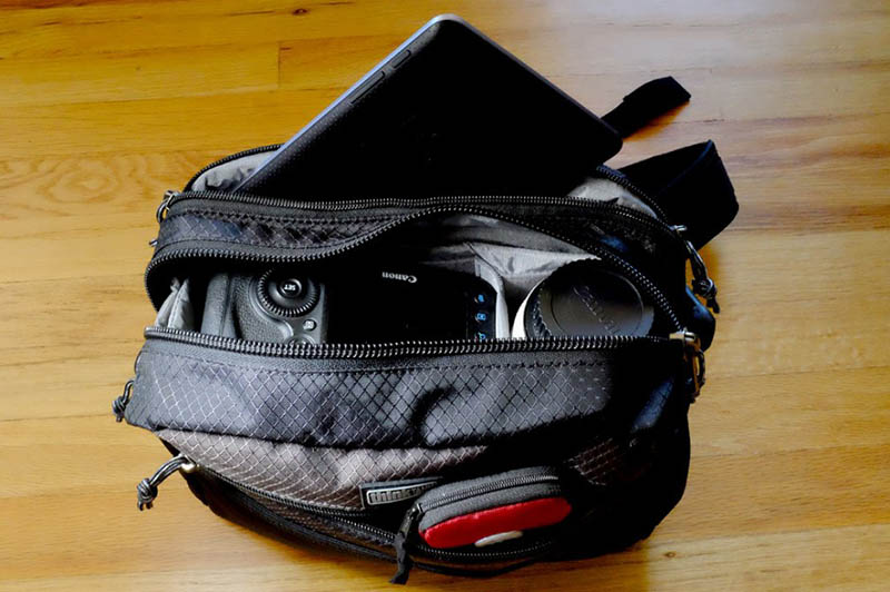 Event photography equipment bag