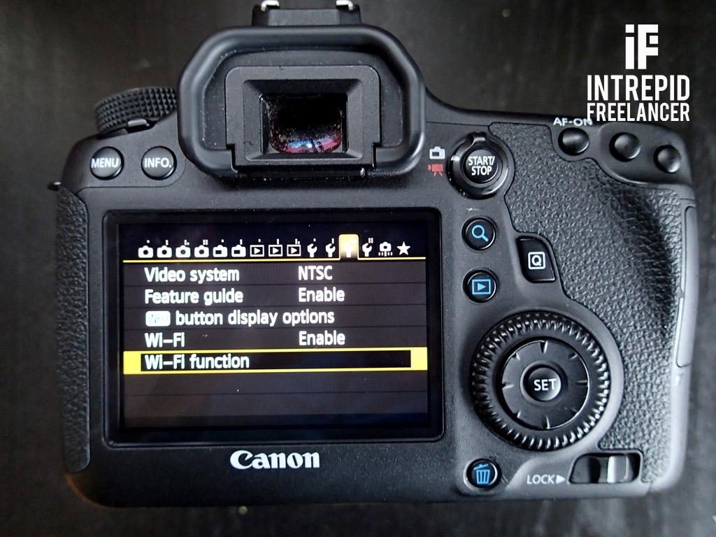 Tutorial: Canon 6D WiFi Setup Part 1