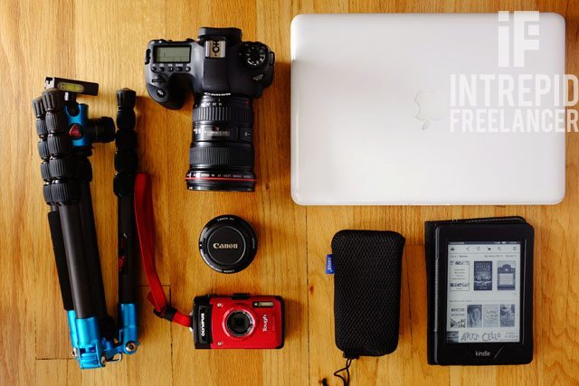 Solo travel packing list