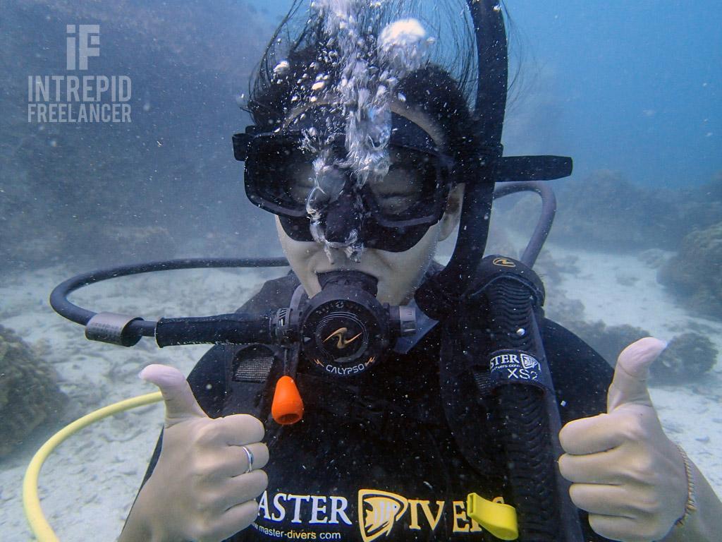 Ko Tao scuba diving photography